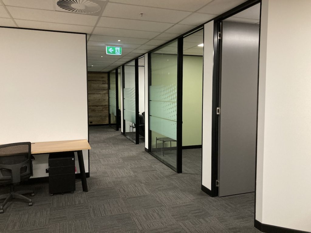 Brisbane Corpporte Office Fitout by MTB Projects